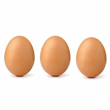 Uova confezione da 3