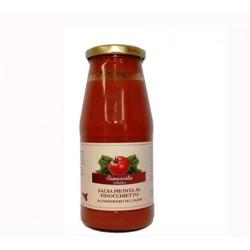 Salsa pronta al finocchietto di pomodoro siccagno di Valledolmo