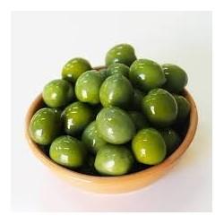 Olive verdi in olio EVO (vaschetta da 400gr circa)