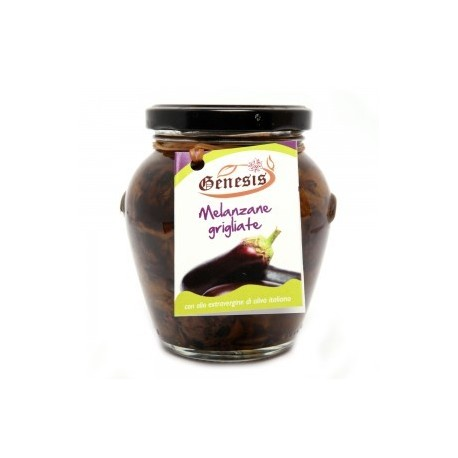 Melanzane grigliate in olio extravergine di oliva -