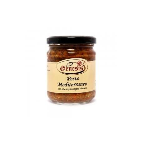 Pesto mediterraneo in olio extravergine di oliva -