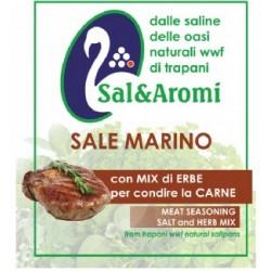 Sale marino con mix erbe per carne